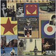Paul Weller Stanley Road - Singles Box - Autographed UK vinyl box set Promo