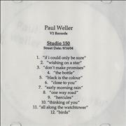 Click here for more info about 'Paul Weller - Studio 150'