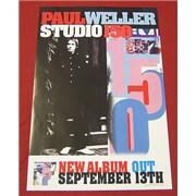 Paul Weller Studio 150 UK poster