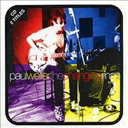 Paul Weller The Changing Man - Picture Europe CD single