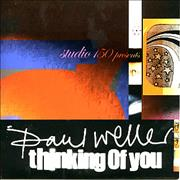 Paul Weller Thinking Of You Europe CD single Promo