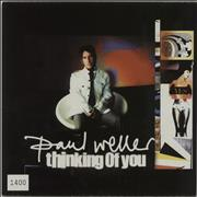 """Paul Weller Thinking Of You UK 7"""" vinyl"""