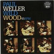 """Paul Weller Wild Wood + Poster UK 10"""" vinyl"""