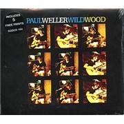 Paul Weller Wild Wood + Prints UK CD single