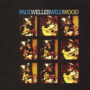 Paul Weller Wild Wood UK CD single Promo
