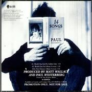 Click here for more info about 'Paul Westerberg - World Class Fad'