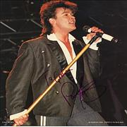 Click here for more info about 'Paul Young - Autographed Publicity Photograph'