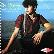 Click here for more info about 'Paul Young - Come Back And Stay - Poster Sleeve'