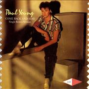 Click here for more info about 'Paul Young - Come Back And Stay - Single Remix Version'