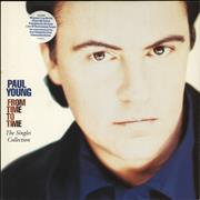 Click here for more info about 'Paul Young - From Time To Time: The Singles Collection - Stickered sleeve'
