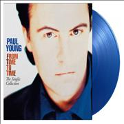 Click here for more info about 'Paul Young - From Time To Time: The Singles Collection - Blue Vinyl'