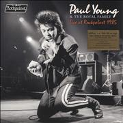 Click here for more info about 'Paul Young - Live At Rockpalast 1985 - 180gm Orange Vinyl + Numbered - Sealed'