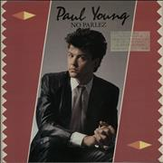 Click here for more info about 'Paul Young - No Parlez + song hype/promo stamp'