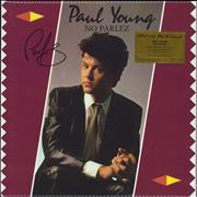 Click here for more info about 'Paul Young - No Parlez - 180gm Purple Marbled Vinyl - Autographed'