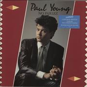 Click here for more info about 'Paul Young - No Parlez - stickered p/s'