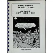 Click here for more info about 'Paul Young - Reflections - Tour Itinerary'