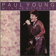 Click here for more info about 'Paul Young - With The Q-Tips Live'