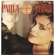 """Paula Abdul Knocked Out UK 12"""" vinyl"""