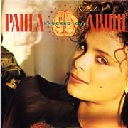 """Paula Abdul Knocked Out UK 7"""" vinyl"""