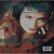 Click here for more info about 'Paula Abdul - Record Mirror'