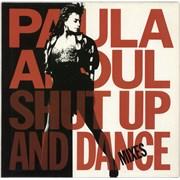 Paula Abdul Shut Up And Dance - The Dance Mixes UK vinyl LP