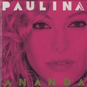 Click here for more info about 'Paulina Rubio - Ananda'