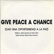 Click here for more info about 'Peace Choir - Give Peace A Chance - Dad Una Oportunidad A La Paz'