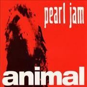 Pearl Jam Animal UK CD single Promo