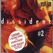 Pearl Jam Dissident - Part 2 + Sticker Austria CD single