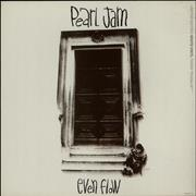 Click here for more info about 'Pearl Jam - Even Flow - White Vinyl - EX'