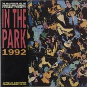 Pearl Jam In The Park 1992 UK tour programme