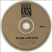 Click here for more info about 'Pearl Jam - Live'