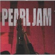 Pearl Jam Ten UK CD album