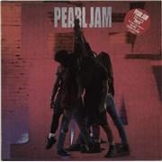 Pearl Jam Ten UK vinyl LP
