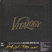 Click here for more info about 'Pearl Jam - Vitalogy + Post Card & Obi-Strip'