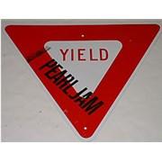 Pearl Jam Yield Road Sign USA memorabilia Promo