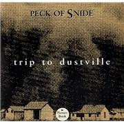 """Peck Of Snide Trip Of Dustville USA 7"""" vinyl"""