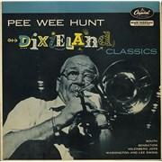 "Pee Wee Hunt Dixieland Classics UK 7"" vinyl"
