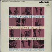 Pee Wee Hunt Saturday Night Dancing Party USA vinyl LP