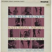 Pee Wee Hunt Saturday Night Dancing Party UK vinyl LP