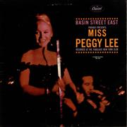 Click here for more info about 'Peggy Lee - Basin Street East'