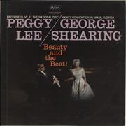Click here for more info about 'Peggy Lee - Beauty And The Beat! - lime green label'