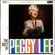 Click here for more info about 'Peggy Lee - The Best Of Peggy Lee Volume 2'