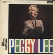 Click here for more info about 'Peggy Lee - The Best Of Peggy Lee Volume 2 - EX'