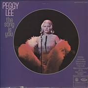 Click here for more info about 'Peggy Lee - The Song Is You'