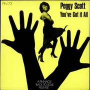 Click here for more info about 'Peggy Scott - You've Got It All - Clear Vinyl'
