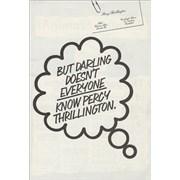 Percy Thrillington Percy Thrillington UK memorabilia