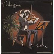 Percy Thrillington Thrillington + Newspaper Cuttings Insert UK vinyl LP