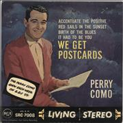 Click here for more info about 'Perry Como - We Get Postcards EP'