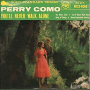 Click here for more info about 'Perry Como - You'll Never Walk Alone EP - 9.59'